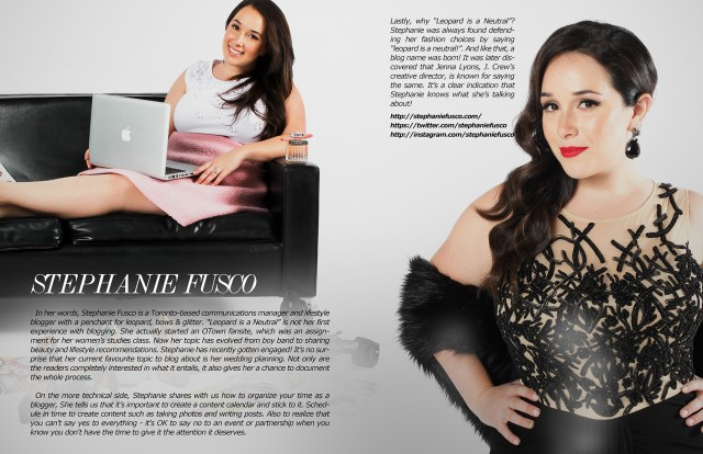 Stephanie fusco Fashion Weekly Featu