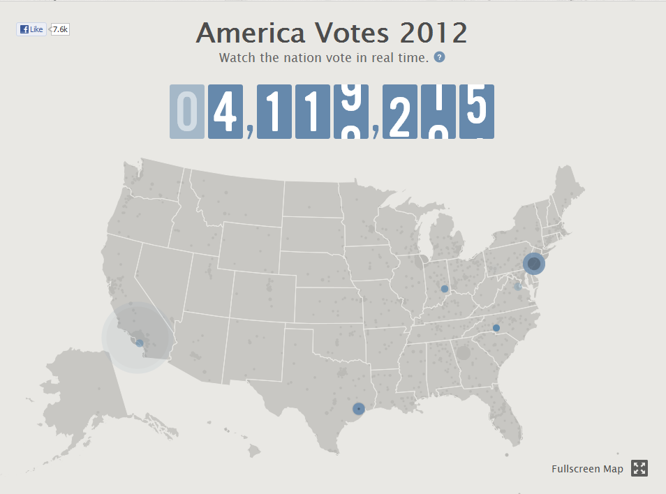 Track The 2012 Us Presidential Election Online Leopard Is A Neutral - 2012-us-presidential-election-map
