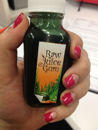 Raw Juice Guru - Chlorophyll elixir - Stephanie Fusco