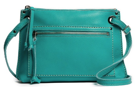 Roots turquoise Raw Edie Italian Raw bag