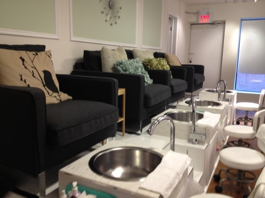 Stephanie Fusco - Get Gelled Manicure Bar - Pedicure Chairs