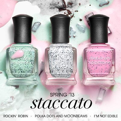 Deborah Lippmann Staccato collection spring 2013