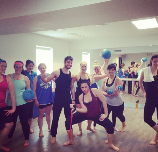 Blogger class - leopard is a neutral - Barreworks Yonge and Eglinton