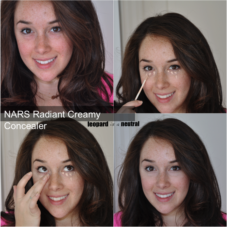 You May Never Need To Sleep Again Nars Radiant Creamy Concealer Face Before After Swatches Stephanie Fusco Leopard Is A