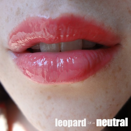 NARS Summer 2013 - Paris Follies Larger than Life Lipgloss - Swatch & Review - Leopard is a Neutral
