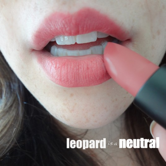 NARS Summer 2013 - Tolede Lipstick - perfect everyday lipstick review - Leopard is a Neutral