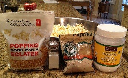 Perfect Homemade Popcorn - how to - ingredients - Leopard is a Neutral - Stephanie Fusco