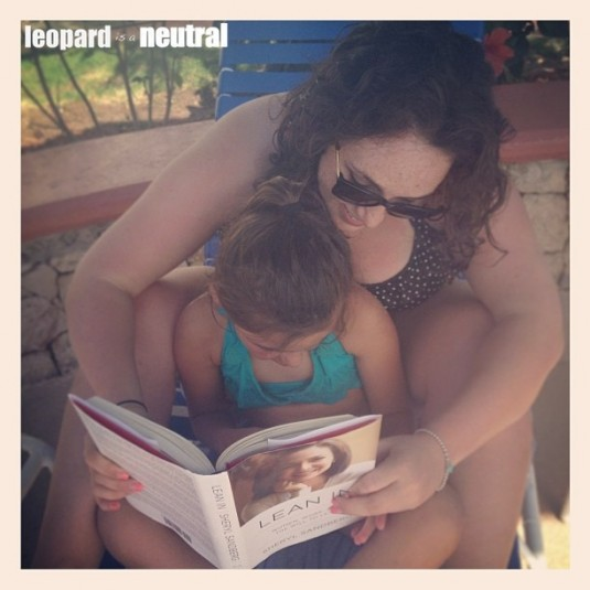 Poolside Reading - Leopard is a Neutral