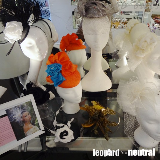 The Black Box Boutique Trunk Show - David Dunkley of KCs Hats - Bridal and Ascot