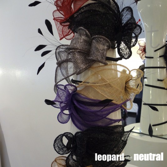 The Black Box Boutique Trunk Show - David Dunkley of KCs Hats fascinators