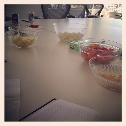 agency lunch