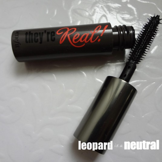Benefit Cosmetics They're Real Mascara - Leopard is a Neutral