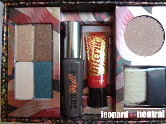 Benefit Cosmetics x Matthew Williamson The Rich Is Back - Leopard is a Neutral