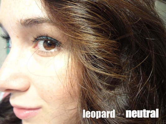 Stephanie Fusco - Leopard is a Neutral - The Rich is Back Benefit Cosmetics makeup