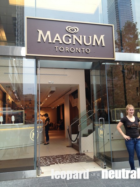 A trip to the pleasure store anyone leopard is a neutral for Magnum pop up shop