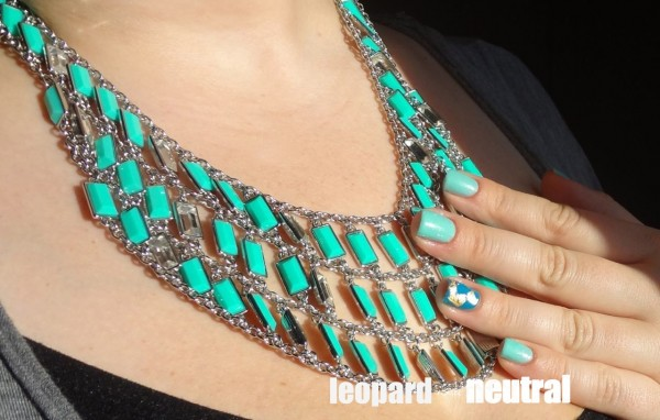 Revlon Haute Tropics 2013 Collection - Coast is Clear BR Milly Bib Necklace