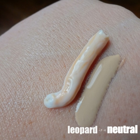 Texture of Hawaiian Tropic Moisture Ribbons and Skinceuticals - Leopard is a Neutral