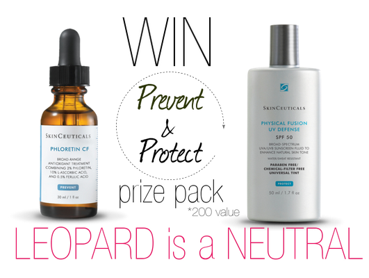 Win Skinceuticals Prevent & Protect - Leopard is a Neutral
