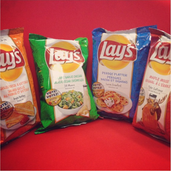 Lay's Do Us A Flavour Canada Finalists