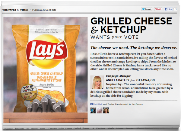 Lay's Grilled Cheese & Ketchup