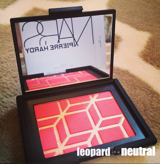 NARS x Pierre Hardy Boys Don't Cry Blush - Leopard is a Neutral