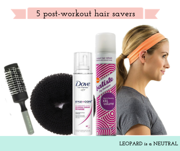 Post-Workout Hair Savers