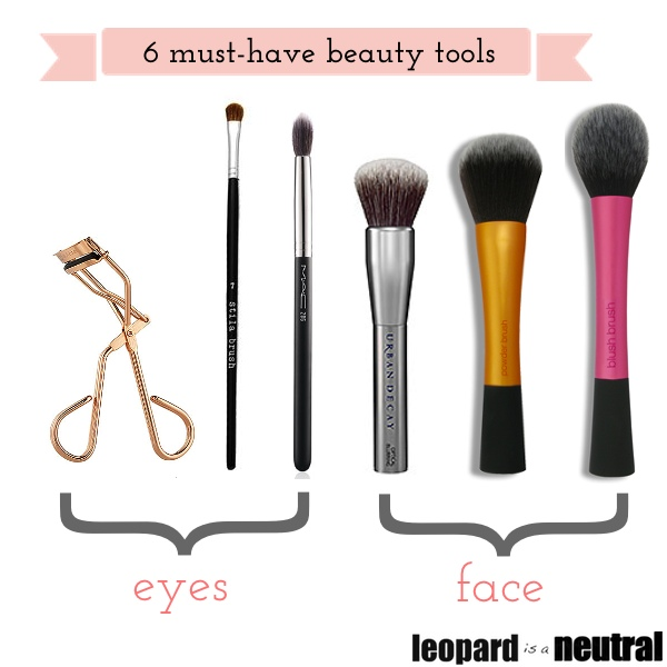 Six Must-Have Beauty Tools - Leopard is a Neutral