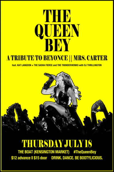 The Queen Bey Toronto - Kat Langdon