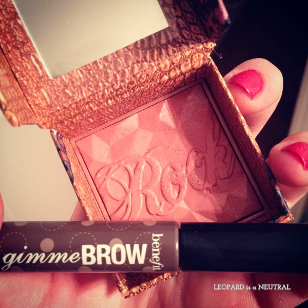 Benefit Gimme Brow and Rockateur