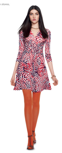 Banana Republic Issa Collection Dotted Dress