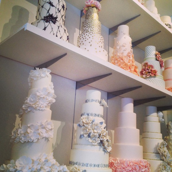 Gorgeous cakes at Bobbette & Belle in Leslieville