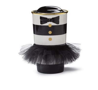 Starbucks alice + olivia striped tumbler - dots bows tutu