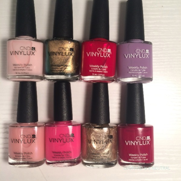 CND Vinylux Swatches Reviews