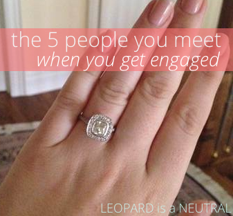 How people act when you get engaged