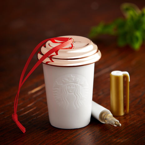 Starbucks Create Your Own Ornament DIY review