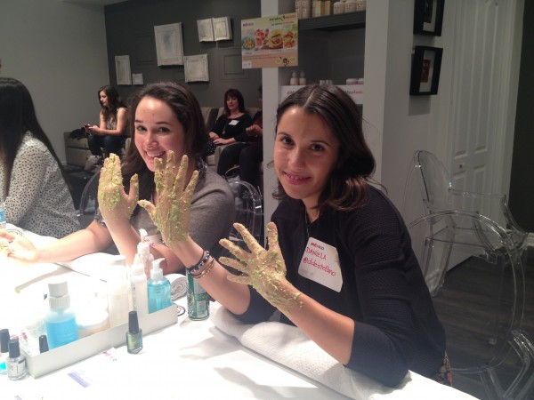 Stephanie Fusco & Daniela DiStefano - LuvMexAvocado DIY hand treatment