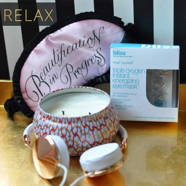 New Years Beauty Resolution - Relax