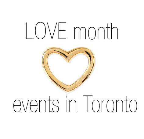 Love month events toronto