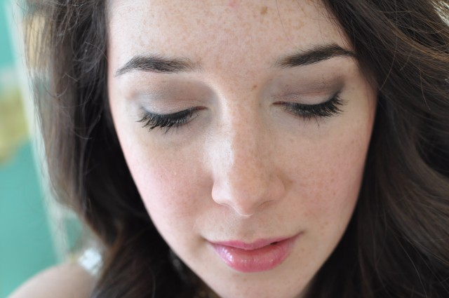 Lise Watier Imagine - Les Mats eyeshadow look