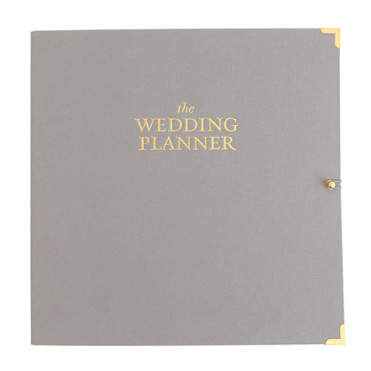J Crew Sugar Paper Wedding Planner Binder