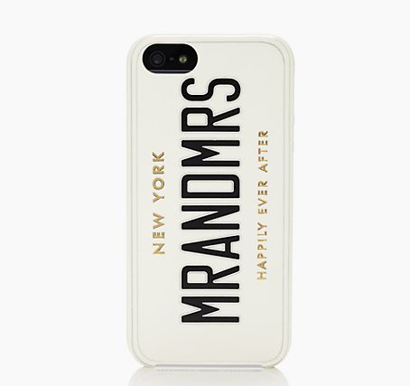 Kate Spade Mr and MRS iPhone 5 Case
