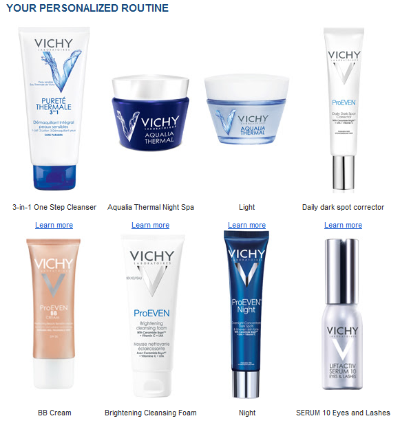 Stephanie Fusco Vichy Skin Health Routine