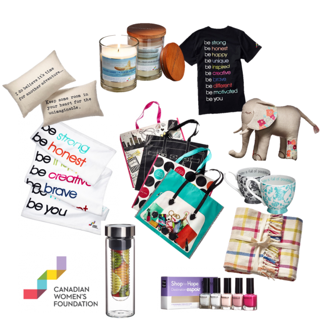 Canadian Womens Foundation Shop For Hope