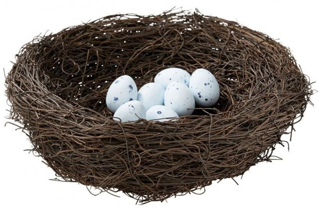 Easter Nest - Decorative - Indigo