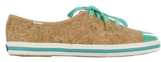 Keds for Kate Spade patent cork