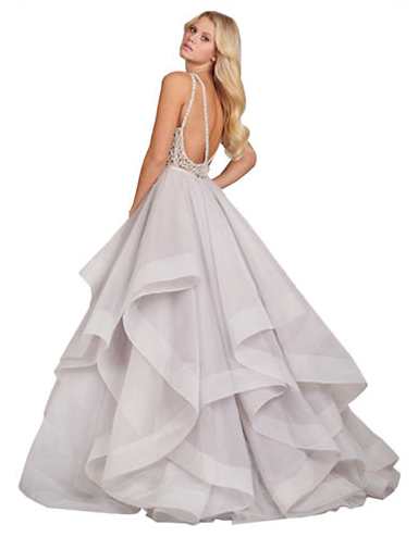 Kleinfeld Canada - Hailey Paige Dori Ball Gown back