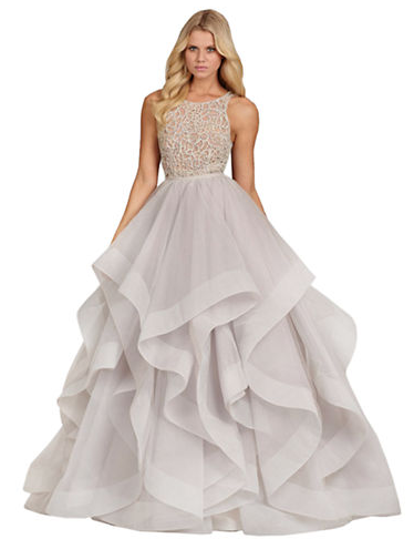 5 dresses to try at Kleinfeld Canada | LEOPARD is a NEUTRAL