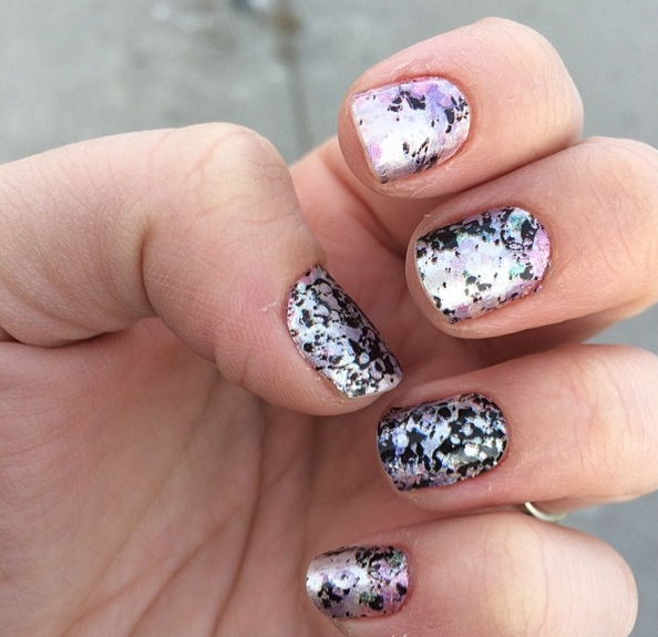Sally Hansen Nail Strips Review Swatch