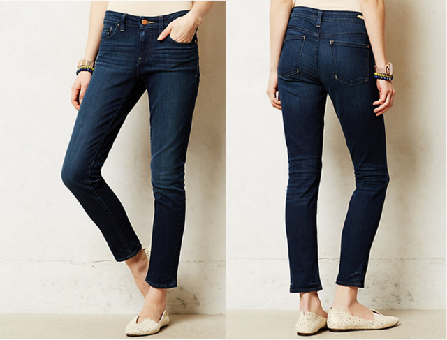 Anthropologie Pilcro Stet Slim Ankle Jeans