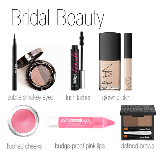Easy Bridal Beauty Look